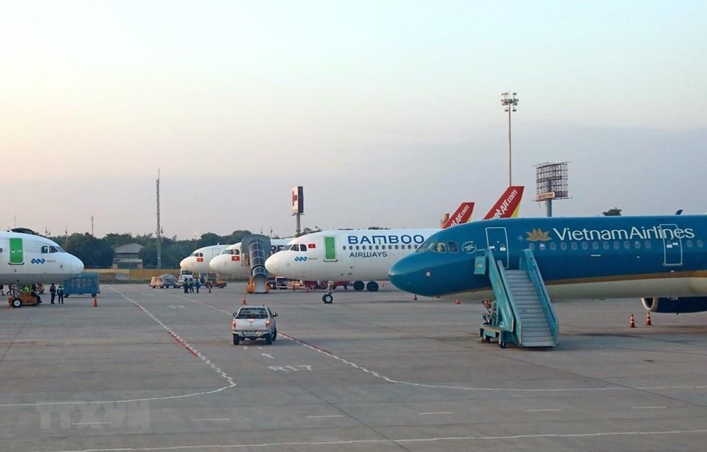 Hàng hóa đường hàng không trở thành giải pháp ngắn hạn